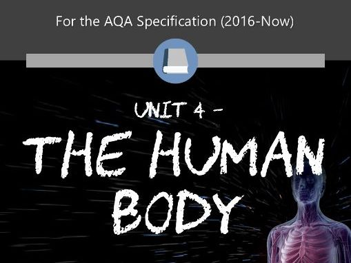 AQA Applied Science A-Level - Unit 4 The Human Body
