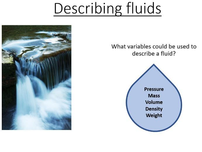 BTec Engineering - Describing Fluid Systems (PowerPoint and worksheet)