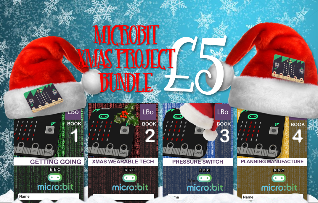 Xmas Wearable Tech MicroBit Project Bundle