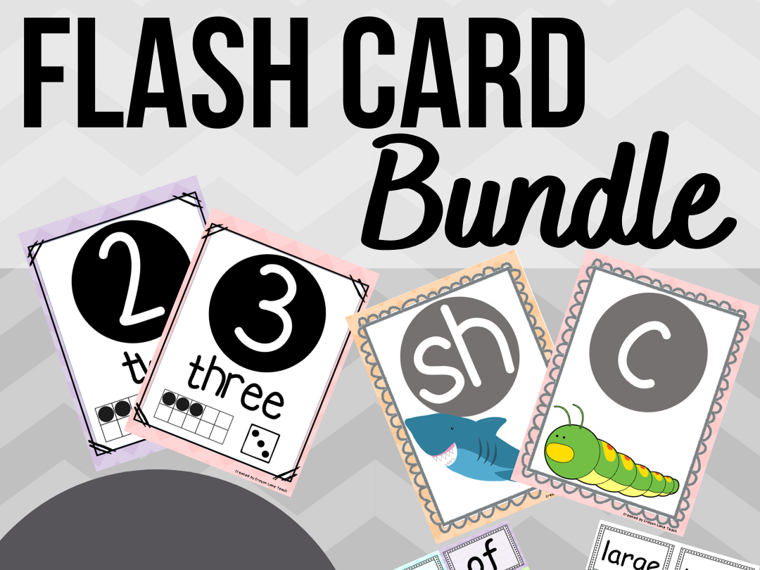 Flash Card Bundle