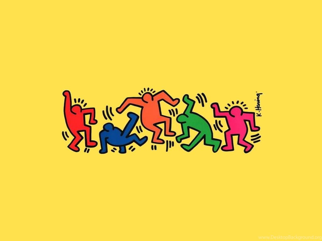 Art Lesson on Keith Haring