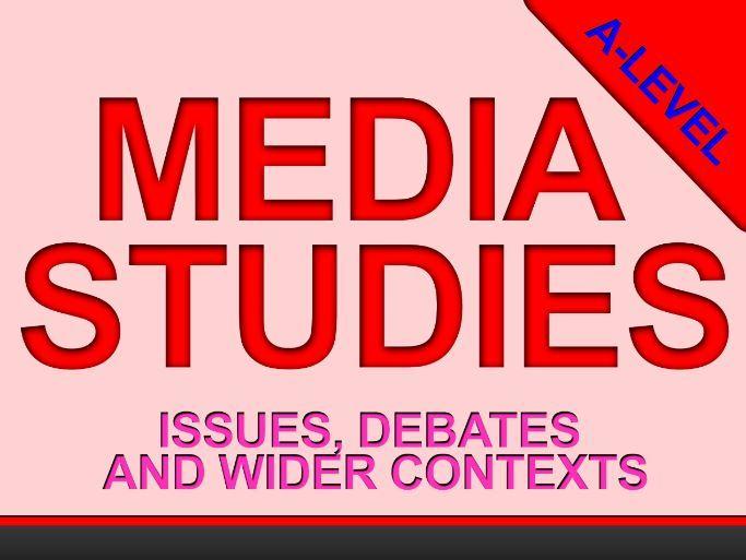 Media Studies: Key Issues and Debates