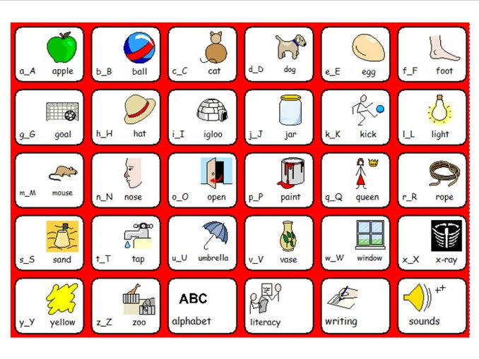 alphabet words early years teaching resources literacy and numeracy 904