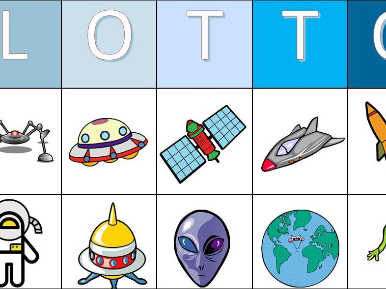 World Space Week Colour Lotto