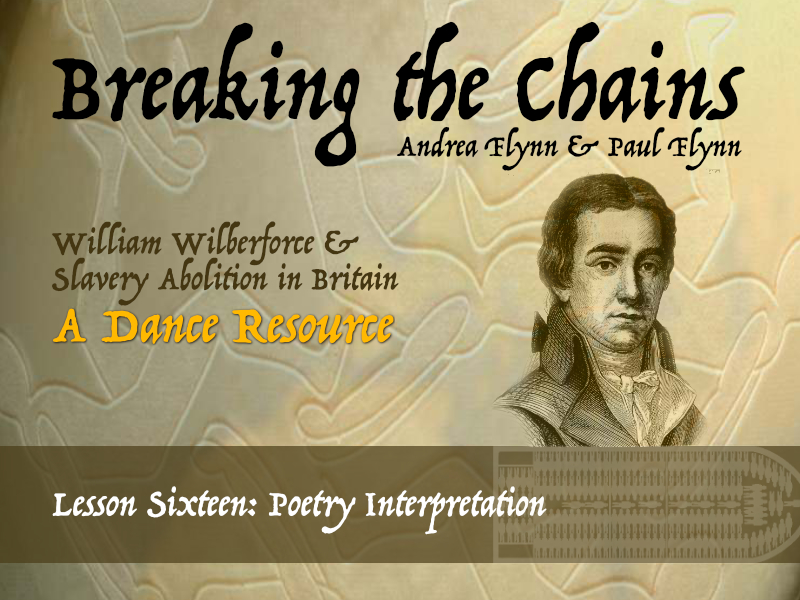 Breaking the Chains - Lesson Sixteen - Poetry Interpretation