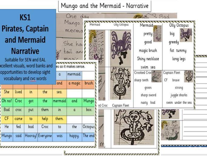 Pirates and Mermaids Year 2 Narrative