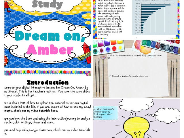 Dream On, Amber Digital Novel Study