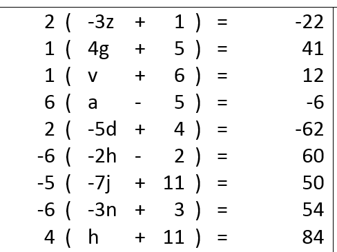 Expanding single brackets and solving the equation worksheet