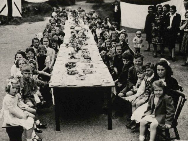 Photographs of VE Day in Suffolk