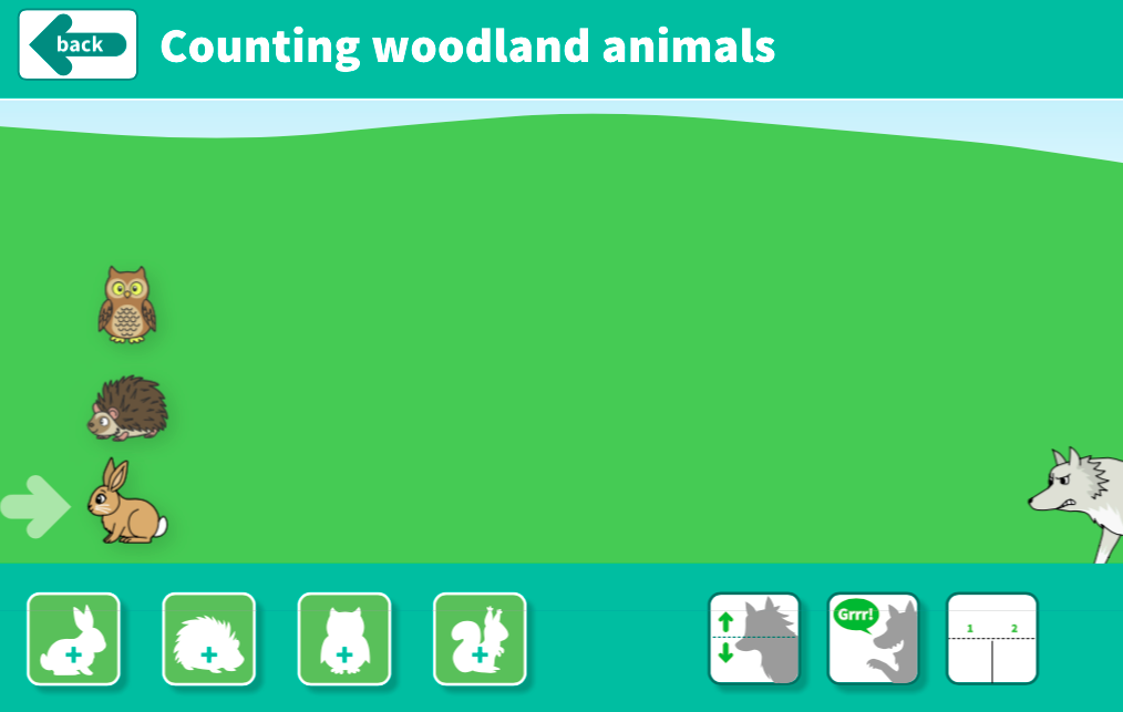 Comparing and Ordering Numbers to 10 - Counting Animals Interactive Tool - EYFS Number