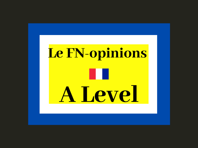 Front National opinions