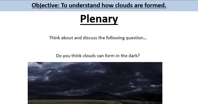 Clouds Lesson