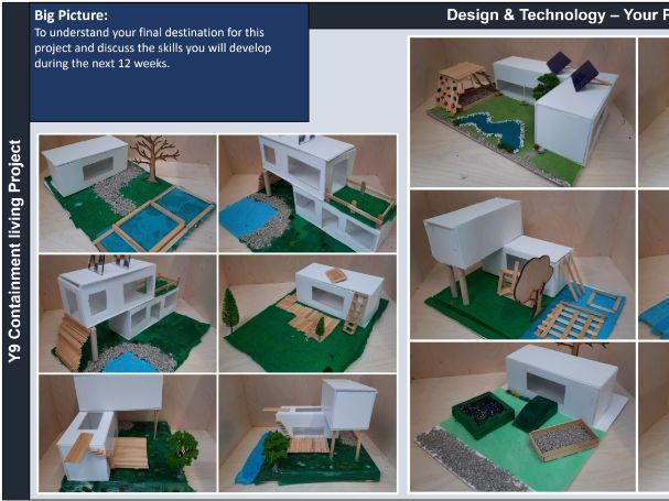 Shipping container adaptation project