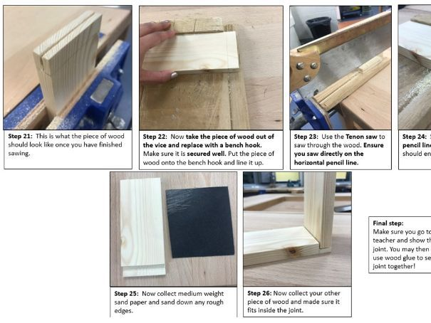 Wood joints - Lap Joint Step by Step - Full Lesson