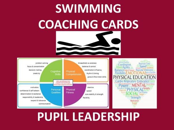 Swimming Coaching Cards - Complete Pack