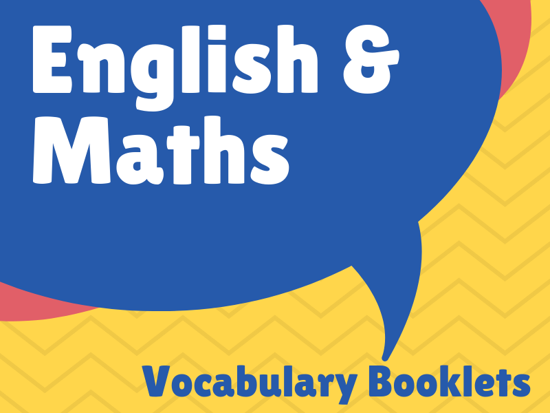English & Maths Vocabulary