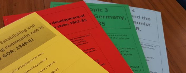 GDR Paper 2 (Edexcel) Key Topic 1 (Establishing and Consolidating communist rule). Student Booklet