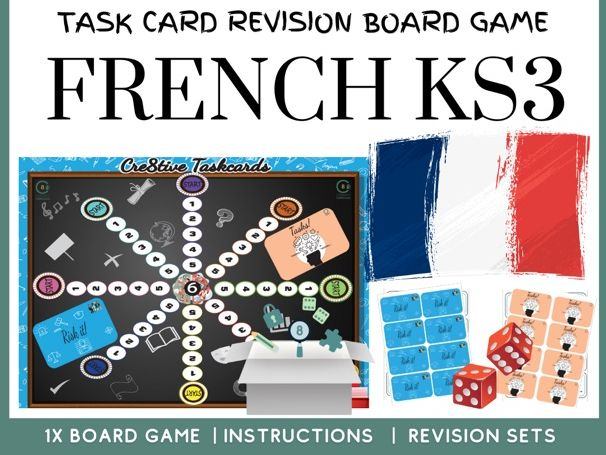 French KS3 Revision Board Game