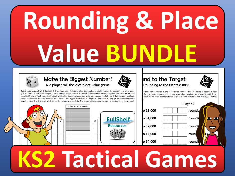 Place Value and Rounding Games