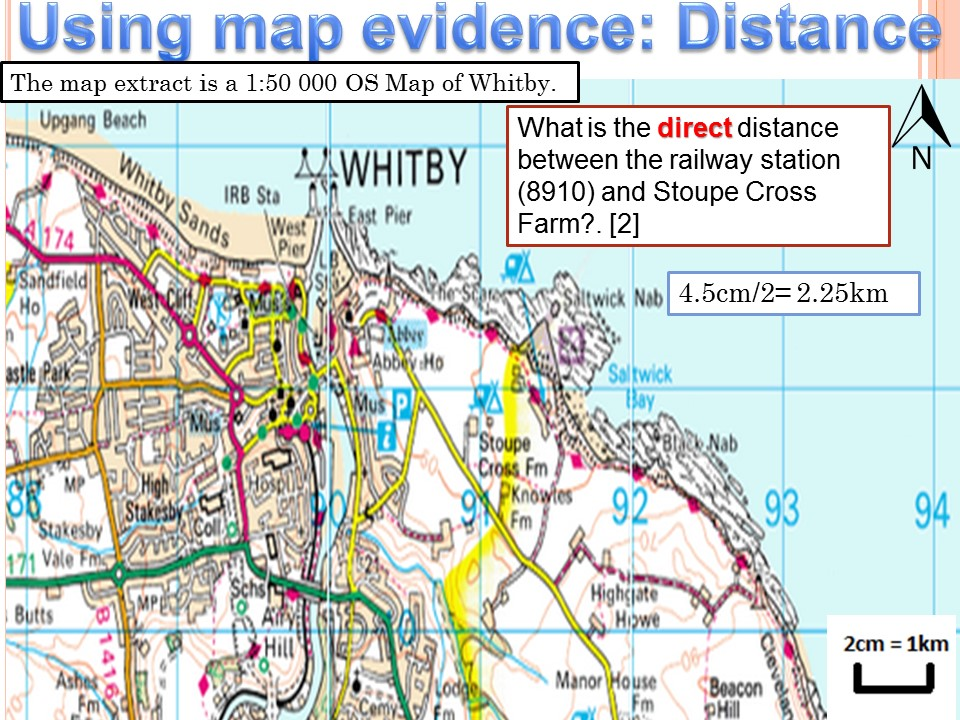 2017-2018 Year 11 OCR B Revision 18) OS Map Revision WITH ANSWERS