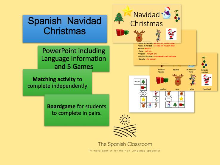Spanish Christmas  Navidad Español