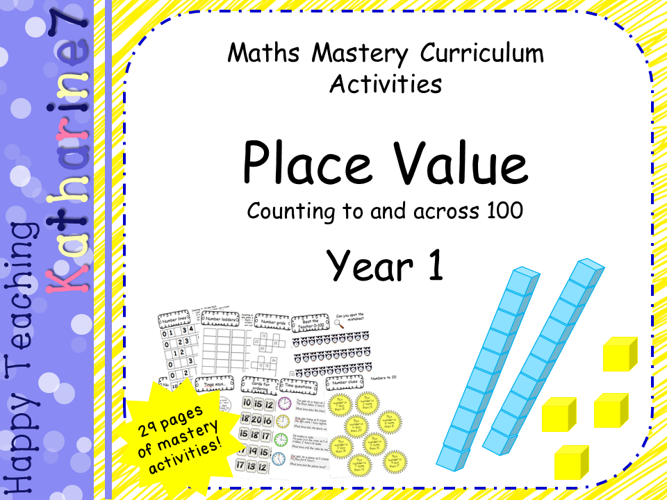 place value mastery materials year 1 counting forwards and backwards to 100 by katharine7. Black Bedroom Furniture Sets. Home Design Ideas