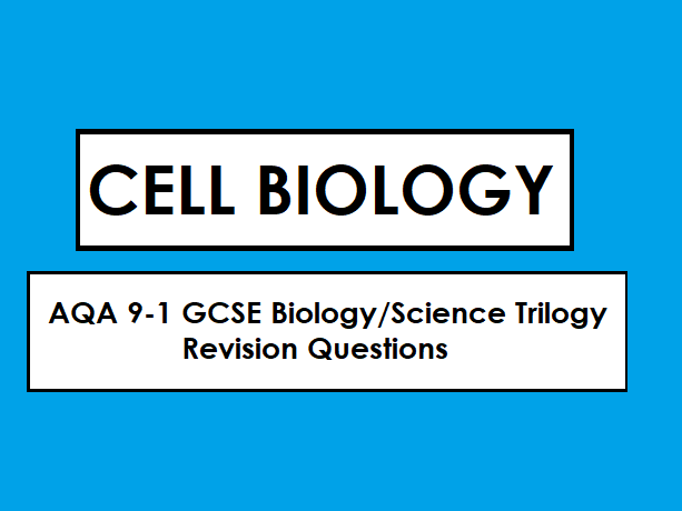 Aqa biology 9 1 gcse revision cell biology by starfishrevision cover image publicscrutiny Images
