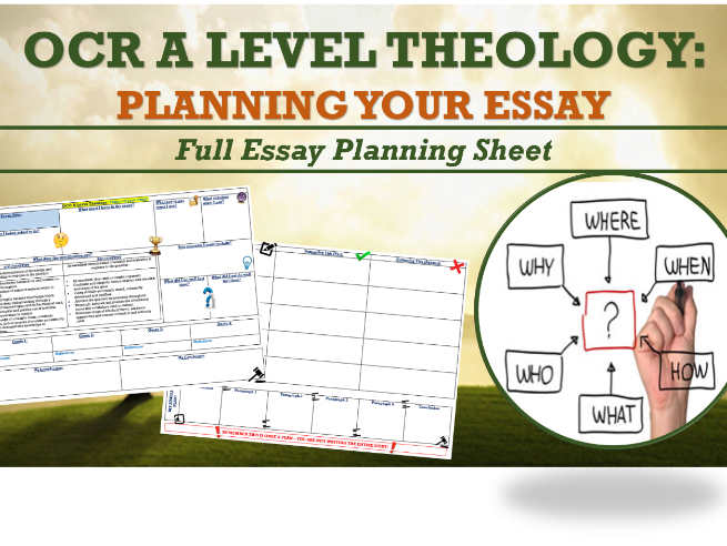 how an answer a mark question edexcel by gadu teaching  ocr a level theology essay plan