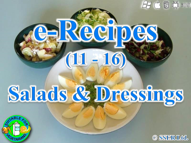 20.   Salads & Dressings (e-Recipe)