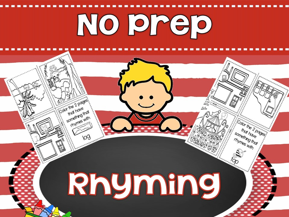 No Prep Rhyming