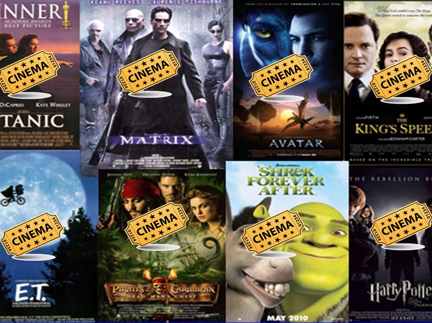 Film themes - pupils decide which film genre