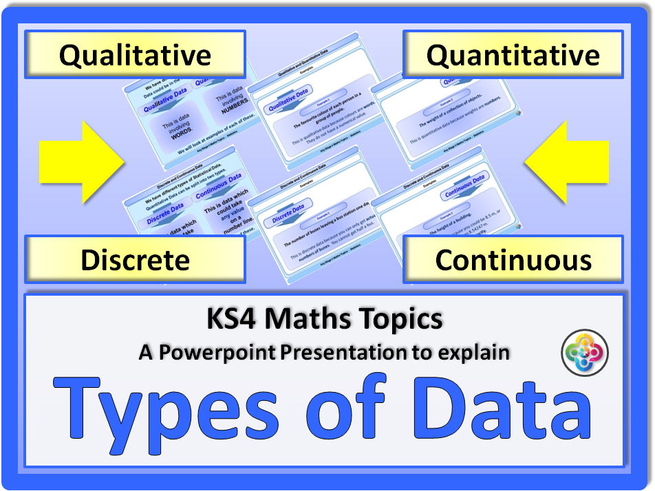 Types of Data KS4