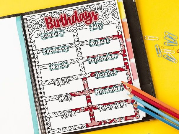 Birthday Tracker (B)