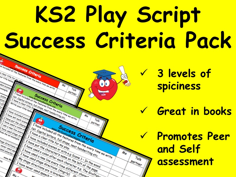 Play Script Success Criteria