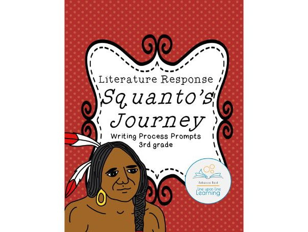 Writing Process Prompts for Squanto's Journey by Bruchac