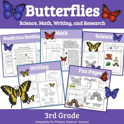 Butterflies: Unit Study of Butterflies (Insect Unit)