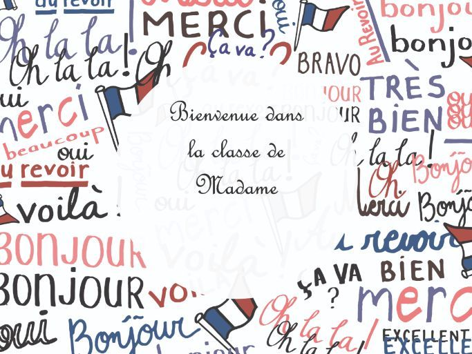 French Bienvenue Poster - Welcoming Display - A3 A4