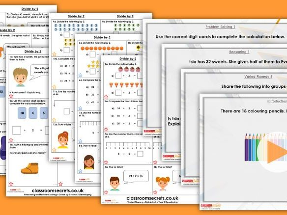 Year 1/2 Mixed Age Spring Block 1 Step 22 Lesson Pack