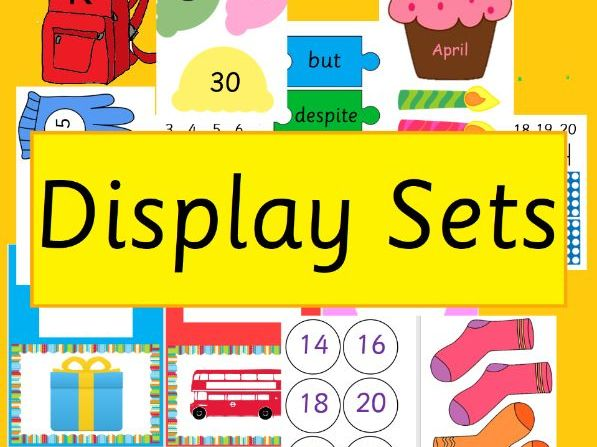 2D Shapes Display Posters