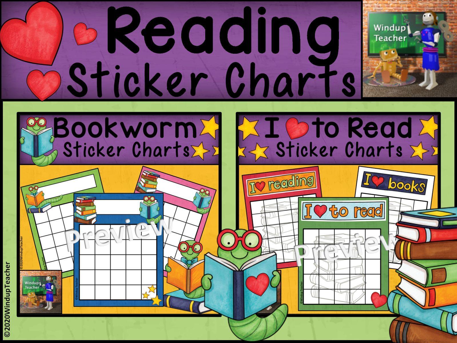 Reading Sticker Charts | BUNDLE