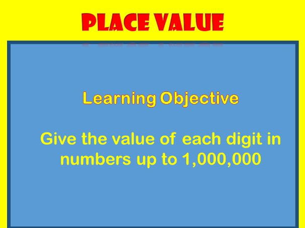 Place Value:  KS2 Maths  (Flash Presentation)