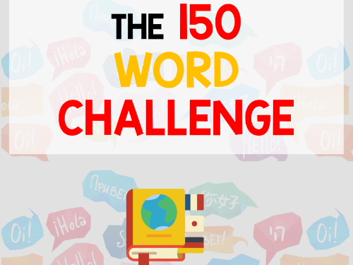 GCSE 150-words writing challenge booklet