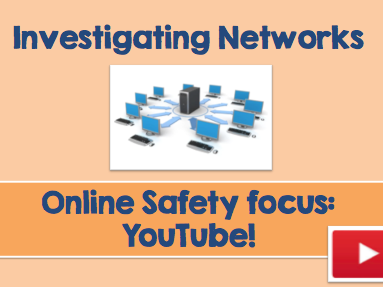 Year 5 (KS2) -Investigating Network (& Internet Safety) Computing Lesson Plan & PowerPoint Resources