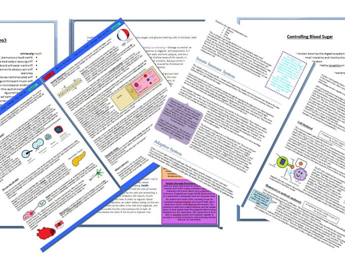 Biology Extension and Topic Guide Pack