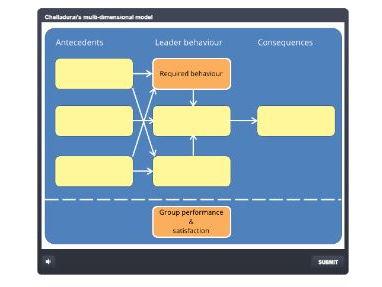 A Level PE (2016): Chelladurai's model of sports leadership (interactive drag and drop)