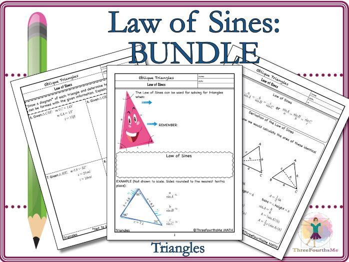Law of Sines: Bundle