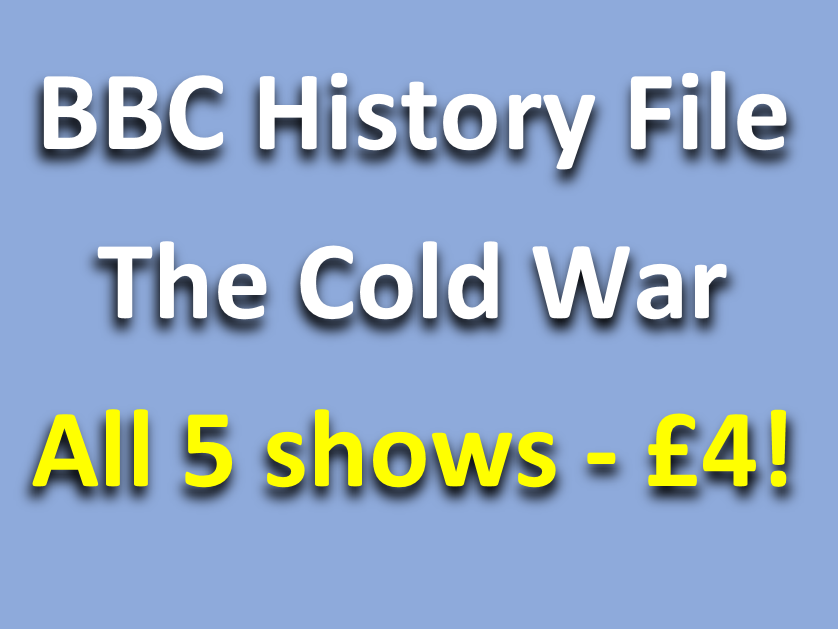 History File Cold War: ALL 5 Videos - Question sheets