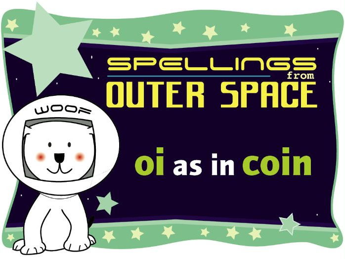 Year 1 Spellings from Outer Space: OI as in COIN