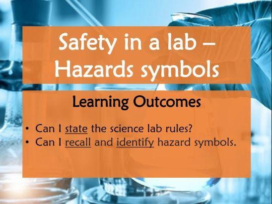 Safety in a Laboratory - Hazard Symbols