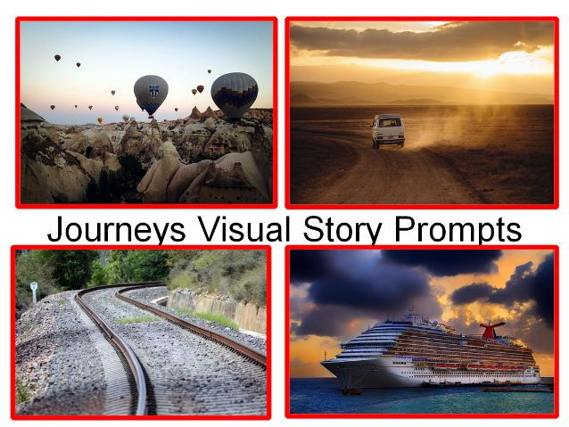 30 Photos Of Journeys + Creative Writing Visual Story Prompts + 31 Other Teaching Tasks For Class